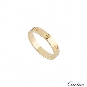 Cartier Yellow Gold Plain Love Wedding Band Ring 55 B4085055